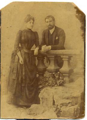 Jacinto Miranda Gabiot y Dolores Iñarra Dolagaray