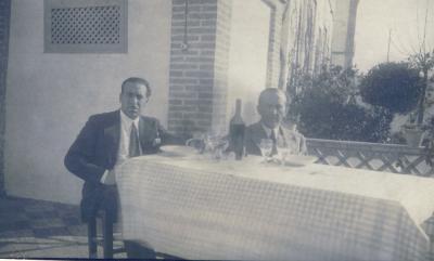Jose Miguel y Andres. Africa