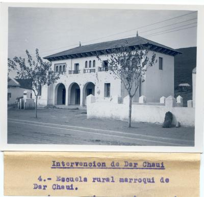 Escuela en Dar Chaui