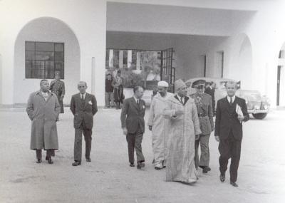 Patio Fabrica de tabacos 1942